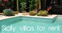 sicily villas for rent
